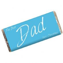 The Best Dad Milk Chocolate Bar